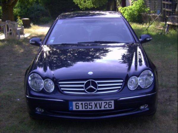 MERCEDES CLK 270 CDI Automatique, Dièsel Années 2004 ! ;)