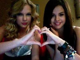 Taylor Swift & Selena Gomez  :-)