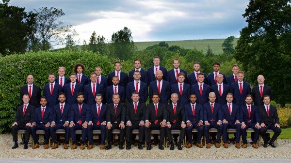 L'équipe officiel du Pays de Galles (05.06.16)