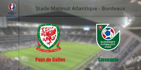 Euro 2016 : PAYS DE GALLES - SLOVAQUIE (11.06.16)