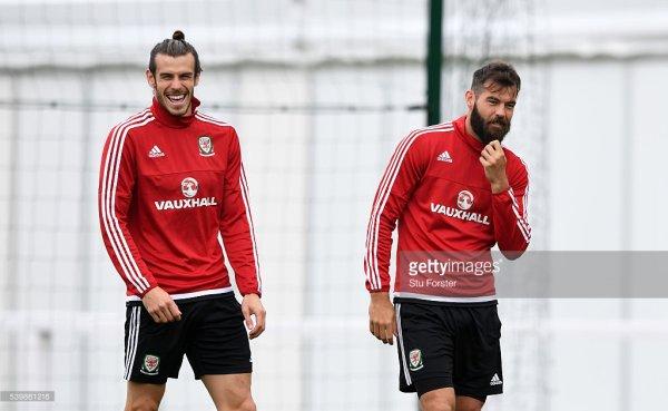 Photos de Gareth Bale à l'entraînement à Dinard (13.06.16)