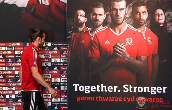 Photos de Gareth Bale en Conférence de presse à Dinard (18.06.16)