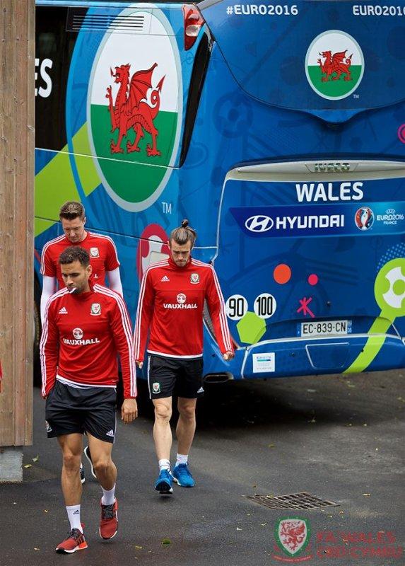 Photos de Gareth Bale à l'entraînement à Dinard (03.07.16)