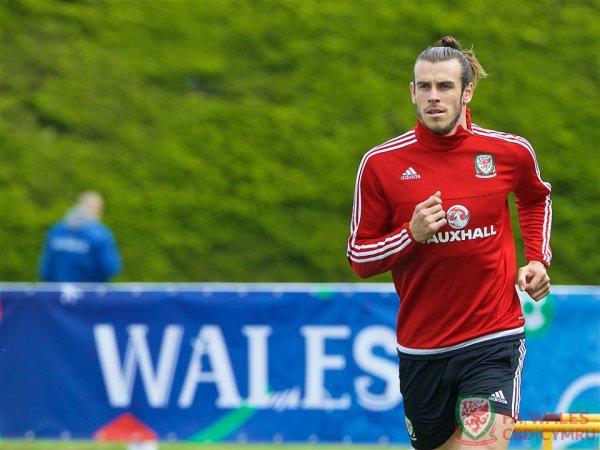 Photos de Gareth Bale à l'entraînement à Dinard (04.07.16)