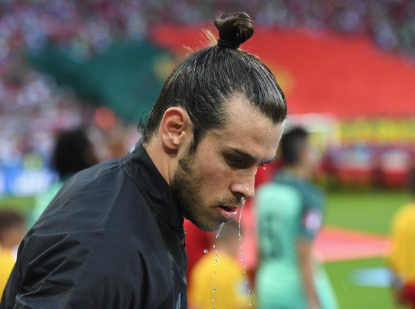 Photos de Gareth Bale pendant le match Portugal - Pays de Galles (06.07.16)