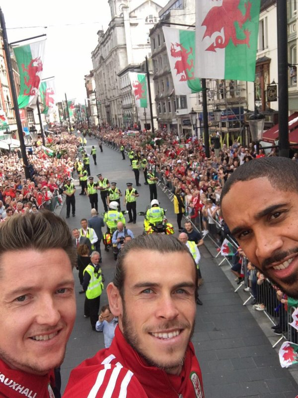 Facebook de Gareth Bale (08.07.16)