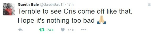 Twitter de Gareth Bale (10.07.16)