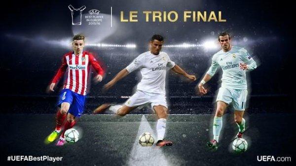 Prix UEFA du meilleur joueur d'Europe (05.08.16)