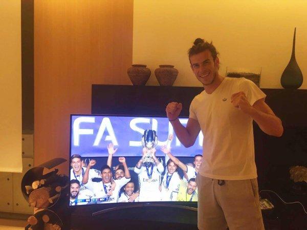 Facebook de Gareth Bale (09.08.16)