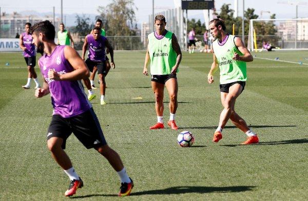 Photos de Gareth Bale à l'entraînement avec le Real Madrid (11.08.16)