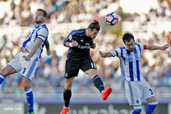 Photos de Gareth Bale pendant le match Real Sociedad - Real Madrid (21.08.16)