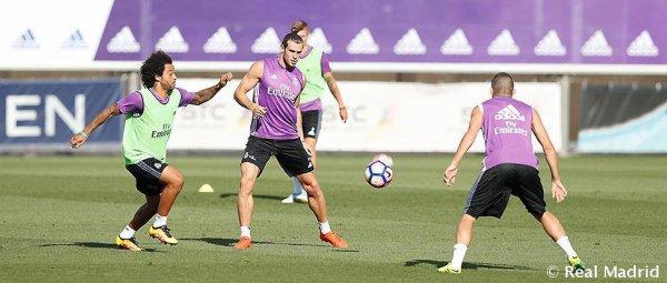 Photos de Gareth Bale à l'entraînement avec le Real Madrid (25.08.16)