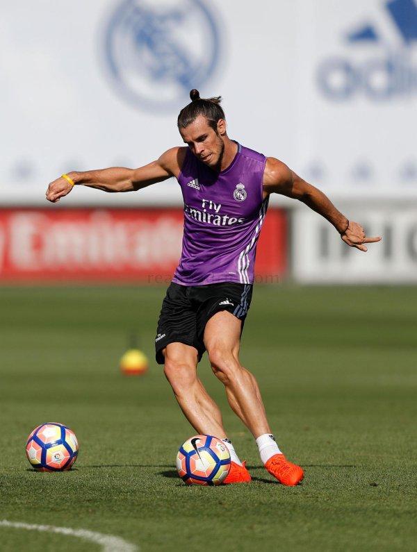Photos de Gareth Bale à l'entraînement avec le Real Madrid (26.08.16)