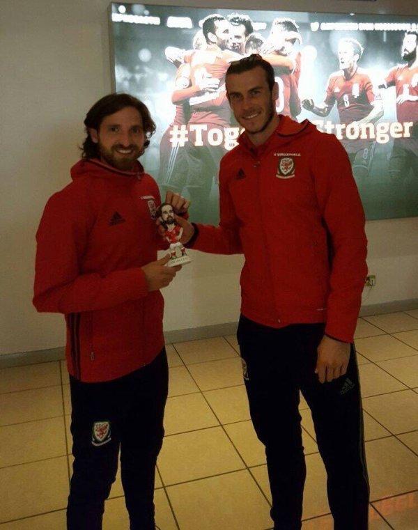 Gareth Bale et Joe Allen