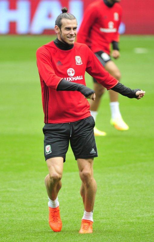 Photos de Gareth Bale à l'entraînement avec le Pays de Galles (04.09.16)