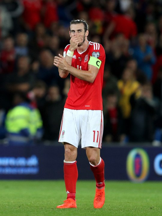 Photos de Gareth Bale pendant le match Pays de Galles Moldavie (05.09.16)