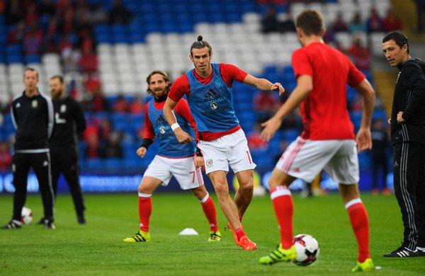 Photos de Gareth Bale avant le match Pays de Galles Moldavie (05.09.16)