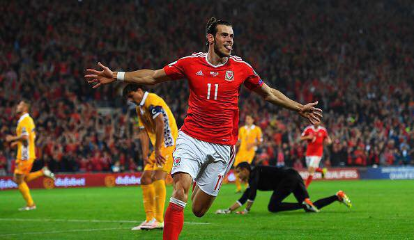 Facebook de Gareth Bale (05.09.16)