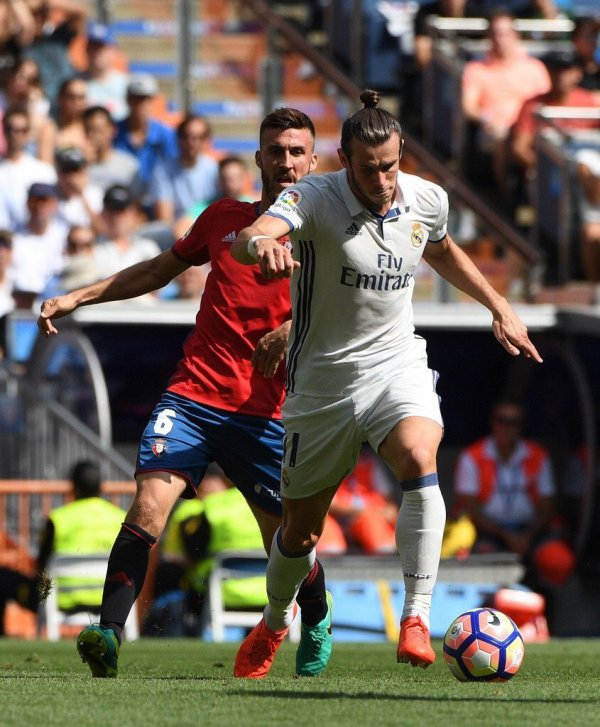 Photos de Gareth Bale pendant le match Real Madrid - Osasuna (10.09.16)