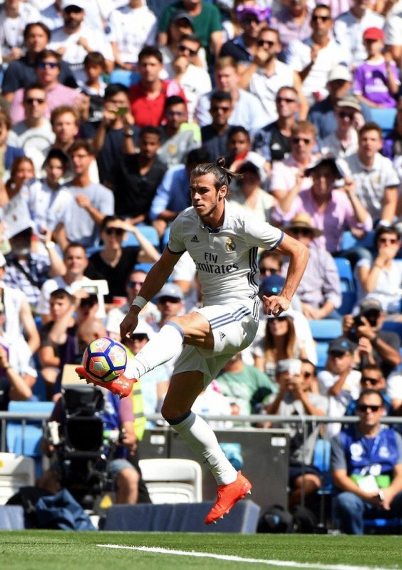 Photos de Gareth Bale pendant le match Real Madrid - Osasuna (10.09.16)