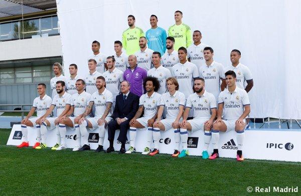 Gareth Bale pendant le shooting photos pour la saison 2016-2017 (12.09.16)