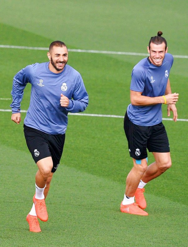 Photos de Gareth Bale à l'entraînement avec le Real Madrid (13.09.16)