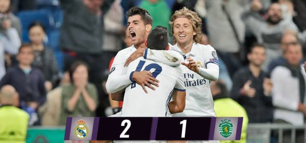 Ligue des Champions : Real Madrid - Sporting CP (14.09.16)