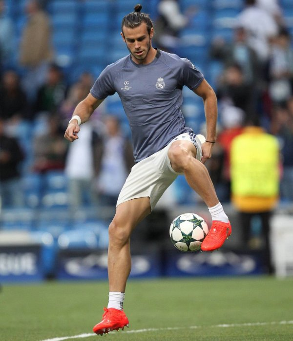Photos de Gareth Bale avant le match Real Madrid - Sporting CP (14.09.16)