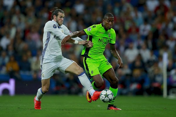 Photos de Gareth Bale pendant le match Real Madrid - Sporting CP (14.09.16)