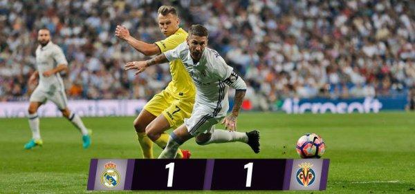LIGA : 5ème journée : Real Madrid - Villarreal (21.09.16)