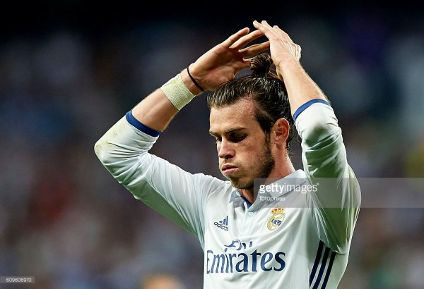 Photos de Gareth Bale pendant le match Real Madrid - Villarreal (21.09.16)