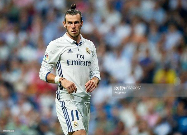 Photos de Gareth Bale pendant le match Real Madrid - Villarreal (21.09.16)