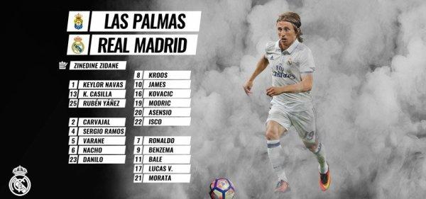 Les joueurs convoqués pour affronter Las Palmas (23.09.16)
