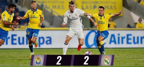 LIGA : 6ème journée : Las Palmas - Real Madrid (24.09.16)