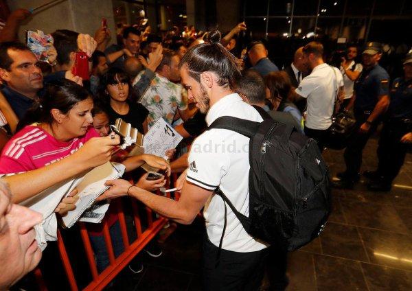 Arrivée de Gareth Bale et l'équipe à Las Palmas (23.09.16)