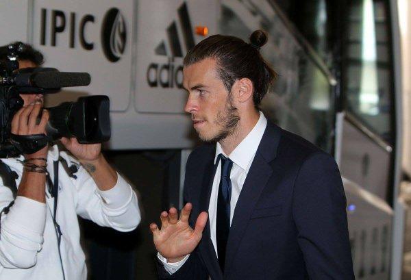 L'arrivée de Gareth Bale et l'équipe à Dortmund (26.09.16)