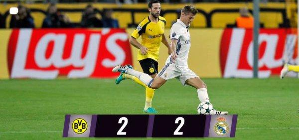 Ligue des Champions : Borussia Dortmund - Real Madrid (27.09.16)