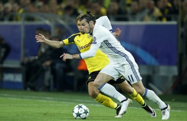 Photos de Gareth Bale pendant le match Borussia Dortmund - Real Madrid (27.09.16)