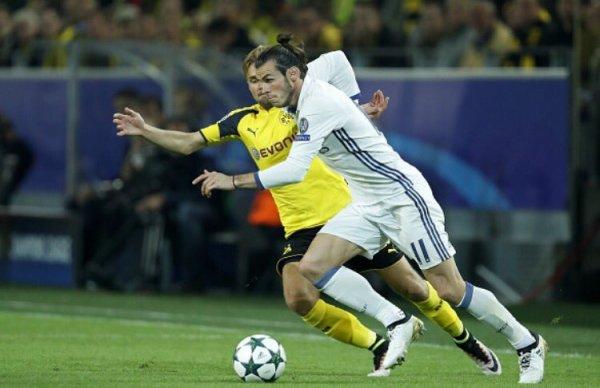 Photos de Gareth Bale pendant le match Borussia Dortmund - Real Madrid (27.09.16)