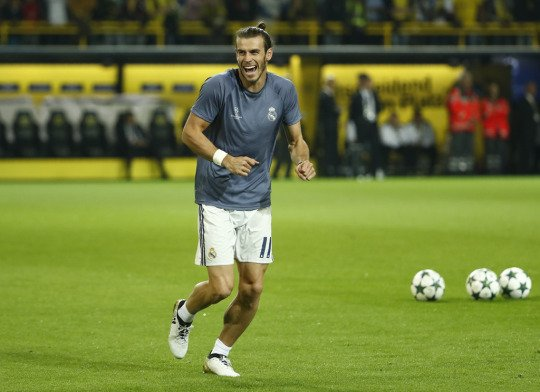Photos de Gareth Bale avant le match Borussia Dortmund - Real Madrid (27.09.16)