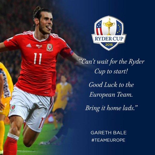 Facebook de Gareth Bale (28.09.16)