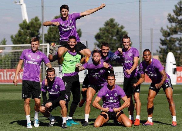 Photos de Gareth Bale à l'entraînement avec le Real Madrid (30.09.16)