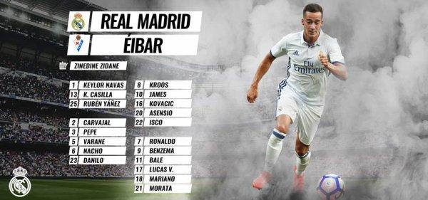Les joueurs convoqués pour affronter Eibar (01.10.16)