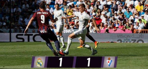 LIGA : 7ème journée : Real Madrid - Eibar (02.10.16)