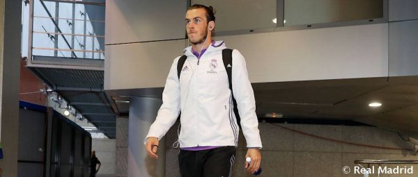 L'arrivée de Gareth Bale au stade Santiago Bernabeu (02.10.16)