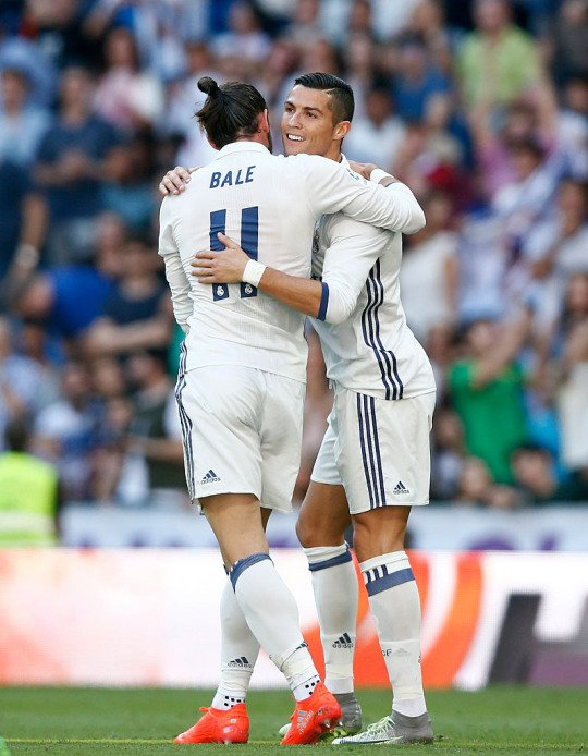 Photos de Gareth Bale pendant le match Real Madrid - Eibar (02.10.16)