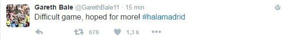 Twitter de Gareth Bale (02.10.16)