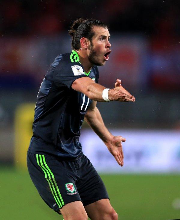 Photos de Gareth Bale pendant le match Autriche - Pays de Galles (06.09.16)