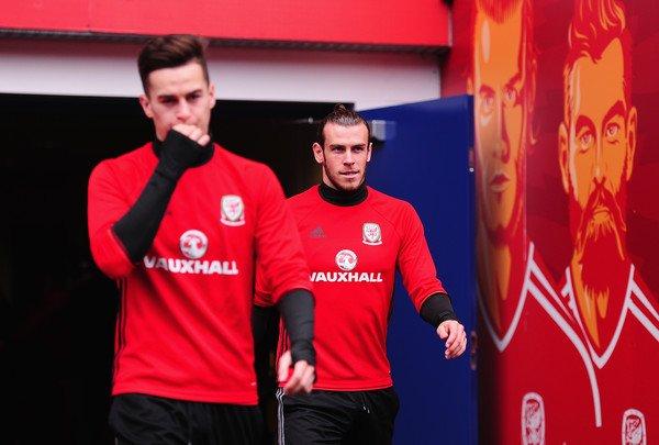 Photos de Gareth Bale à l'entraînement avec le Pays de Galles (08.10.16)