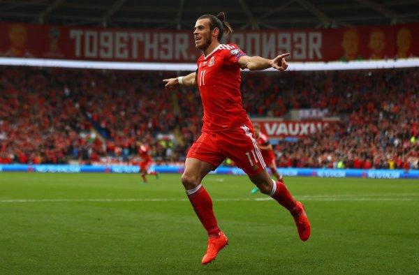 Photos de Gareth Bale pendant le match Pays de Galles - Georgie (09.10.16)
